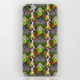 groundhog garden iPhone Skin