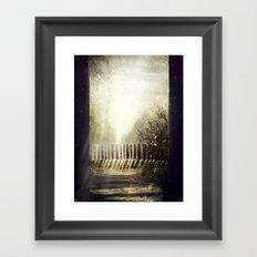 Above the sun Framed Art Print