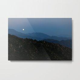 Rising of the Full Moon III (California) Metal Print