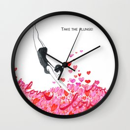 Take the plunge! Wall Clock