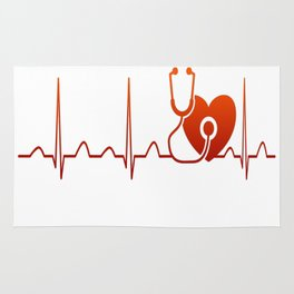 DOCTOR HEARTBEAT Rug