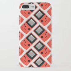 Gameboy Color: Red (Pattern) iPhone 7 Plus Slim Case