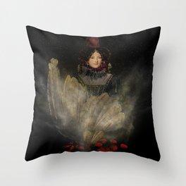 Emerging Beauty Throw Pillow
