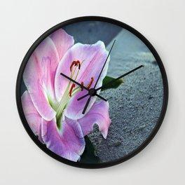 Lirios Wall Clock