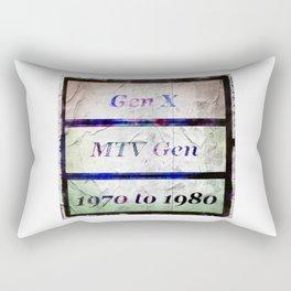 Gen-x MTv Rectangular Pillow