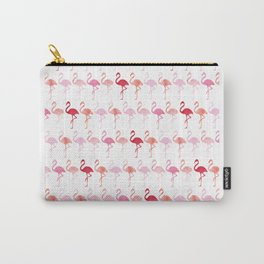Cute Flamingo Pattern Carry-All Pouch