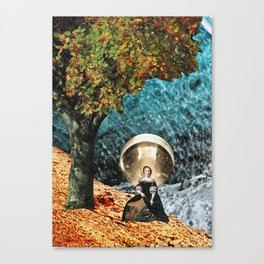 glow - collage Canvas Print