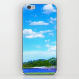Summer on the Essex River iPhone Skin