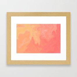 Sherbert Framed Art Print