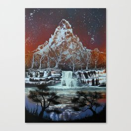 Night on the Lake Canvas Print