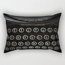 Underwood Typewriter Rectangular Pillow