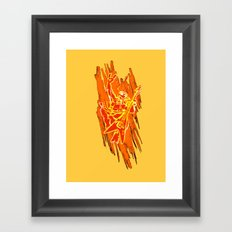 TMNT Rock: Mikey Framed Art Print