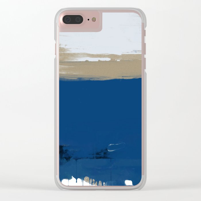 UNTITLED#78 Clear iPhone Case
