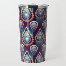 Turkish Blue Travel Mug