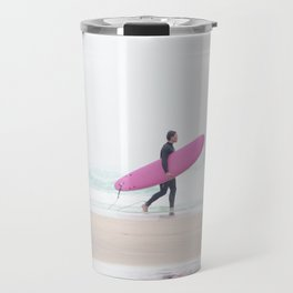 surfing beach vibes Travel Mug