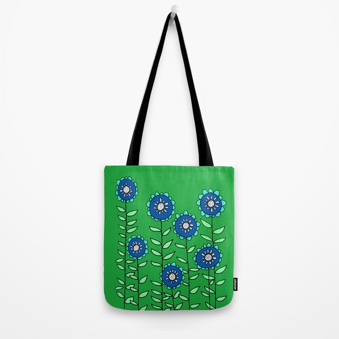 The Most Beautiful Patch of Flowers Tote Bag