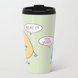 Beat It Metal Travel Mug