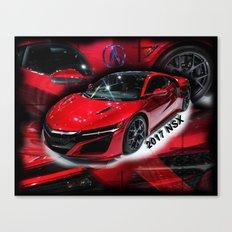 2017 NSX Canvas Print