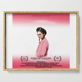 Forever Hungry - the motion picture Serving Tray