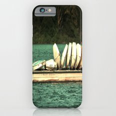 Boats on the Dock iPhone 6s Slim Case