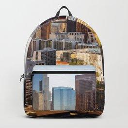 Los Angeles Skyline California United States Ultra HD Backpack