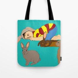 Bunny Boy Tote Bag
