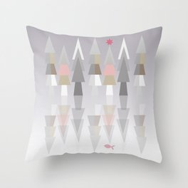 THE NATURAL REFLECTION Throw Pillow