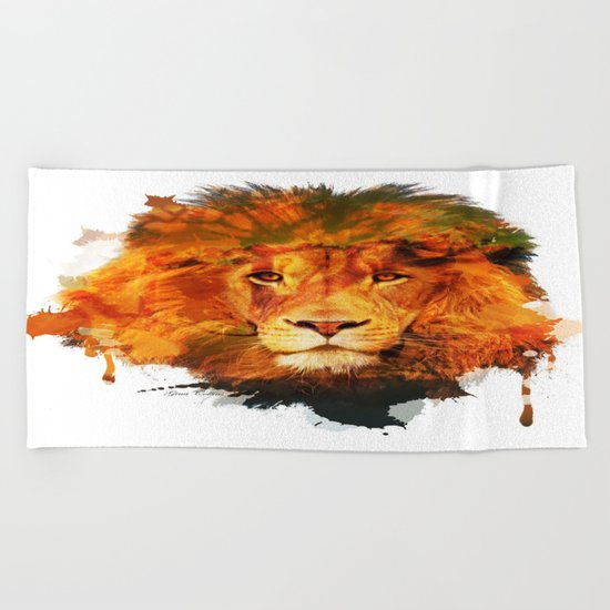 Strength Beach Towel