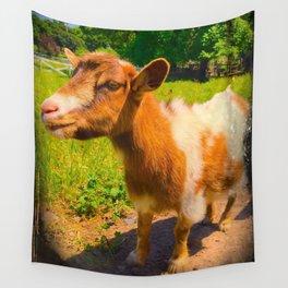 Nigerian Dwarf Goat Wall Tapestry