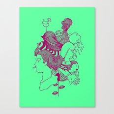 MashUp Five Canvas Print