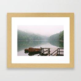 Lake Framed Art Print