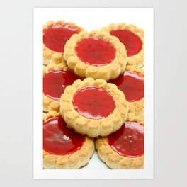 High calorie food Art Print