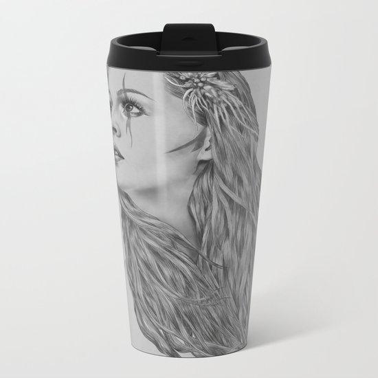 Last hope - Digital painting Metal Travel Mug
