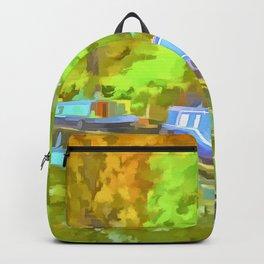 Little Venice London Pop Art Backpack
