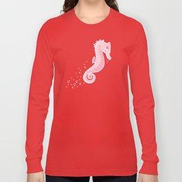 Apathetic Seahorse Long Sleeve T-shirt