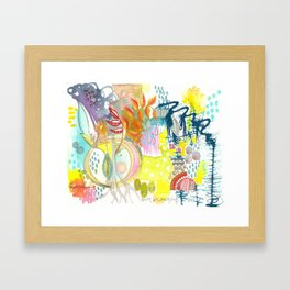 you are an amazing soul. Framed Art Print
