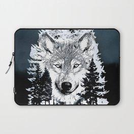 Forest Wolf Art Laptop Sleeve