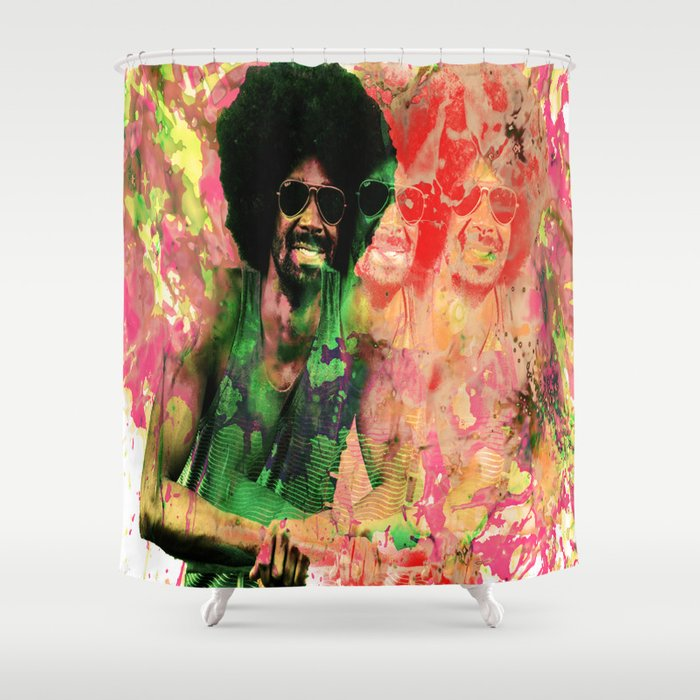 Afro Punk Shower Curtain