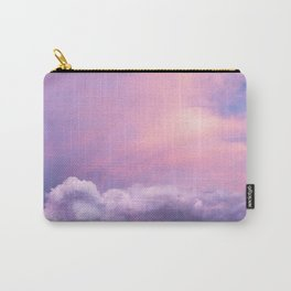 Sunset and Clouds | Blush Pink | Unicorn | Sky Carry-All Pouch