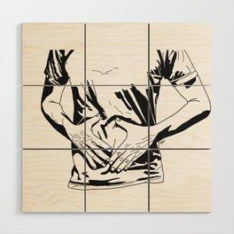 Hunger Wood Wall Art