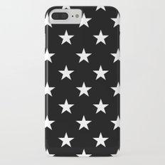 Stars (White/Black) iPhone 7 Plus Slim Case