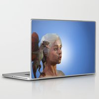 mother of dragons Laptop & iPad Skins featuring Mother of Dragons by Apt108