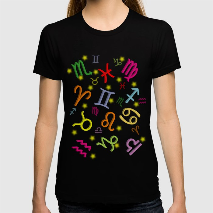 Floating Zodiac Signs T-shirt