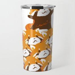 RED PANDA: PYRAMID Travel Mug