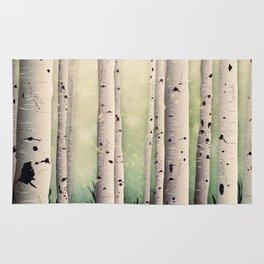 Birch wood at Midsummer Rug