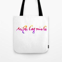 Michelangelo's pride signature Tote Bag