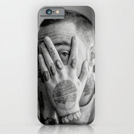 Mac miller, Fan art, music art, gift, gift ideas, home decor, wall decor, typography print, minimalist print, Neutral art, poster iPhone Case