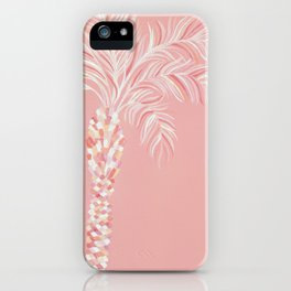 Pink Palm Tree iPhone Case