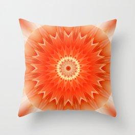 Mandala Aura Throw Pillow