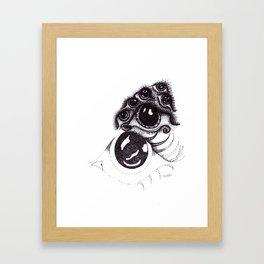 eye on waterloo Framed Art Print